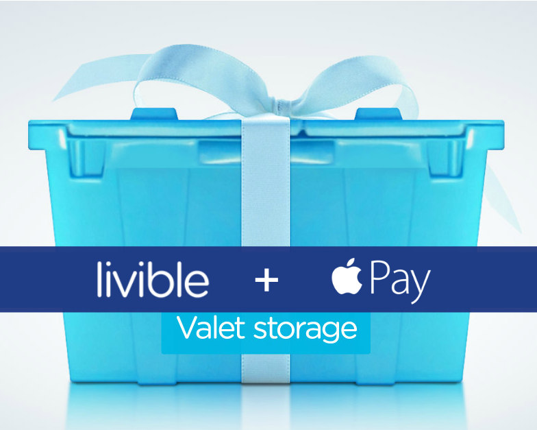 pay Livible with Apple Pay